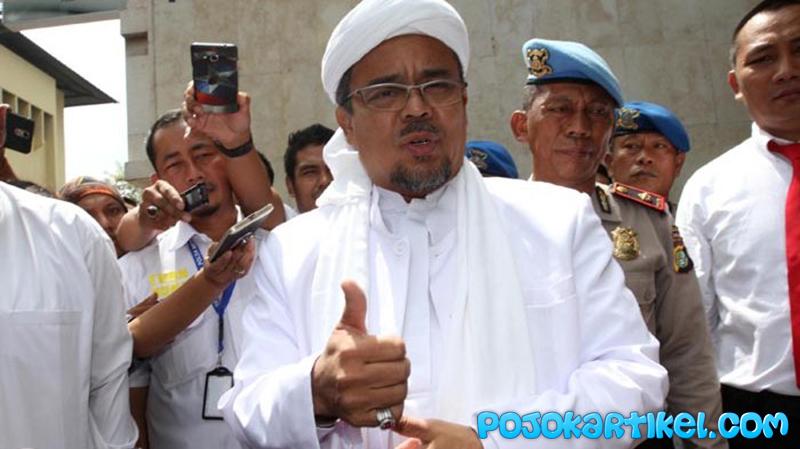 Rizieq Shihab Ditetapkan Menjadi Buron