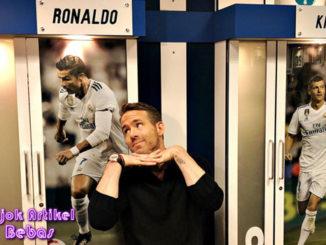 Centilnya Ryan Reynolds Ketika Lihat Cristiano Ronaldo